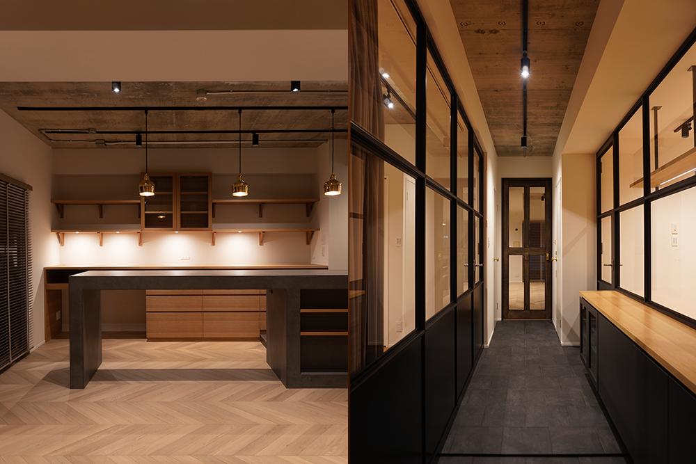 Iwata mansion renovation